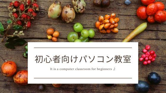 Beginner computer classroom